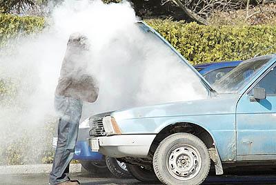 علت داغ کردن خودرو