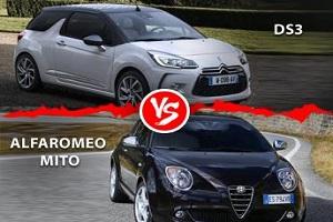 مقایسه دو خودروی DS3 با آلفا رومئو میتو از نظر فنی و ظاهری