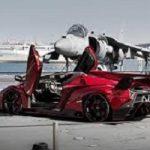 تبلیغ گرانقیمت ترین خودروی لامبورگینی+ تصاویر