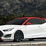 هیوندای ولستر ۲۰۱۹ خودرویی با درهای نامتقارن