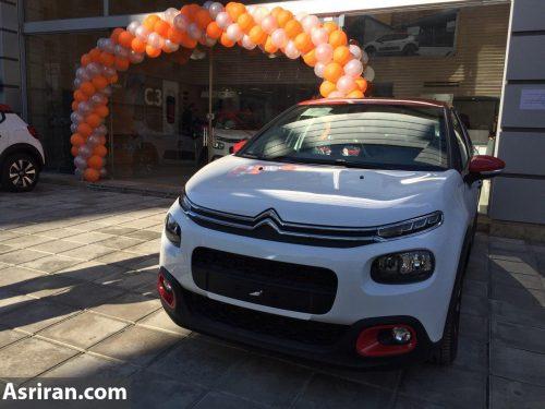 تحویل اولین سری از خودروهای سیتروئن c۳ توسط شرکت سایپا