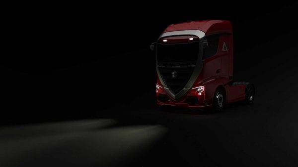 کامیون آلفا رومئو زیباترین خودروهای تجاری