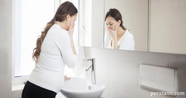 ۱۶ ماده مفید برای رفع حالت تهوع و جلوگیری از آن