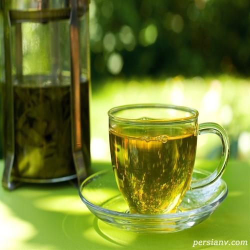 چای سبز چگونه باعث کاهش وزن میشود