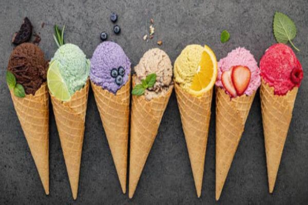 بستنی برای گلودرد
