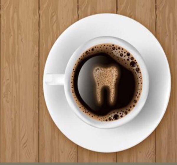 اثرات قهوه بر دندان