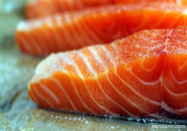 با خواص بی نظیر ماهی سالمون و میگو آشنا شوید