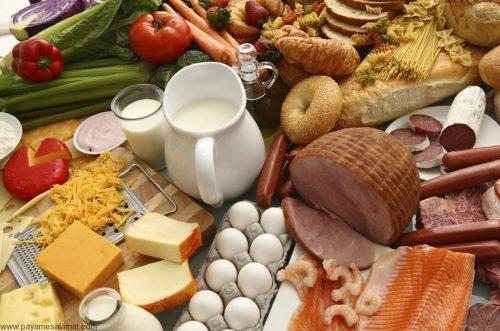 مواد غذایی حاوی ویتامین b3