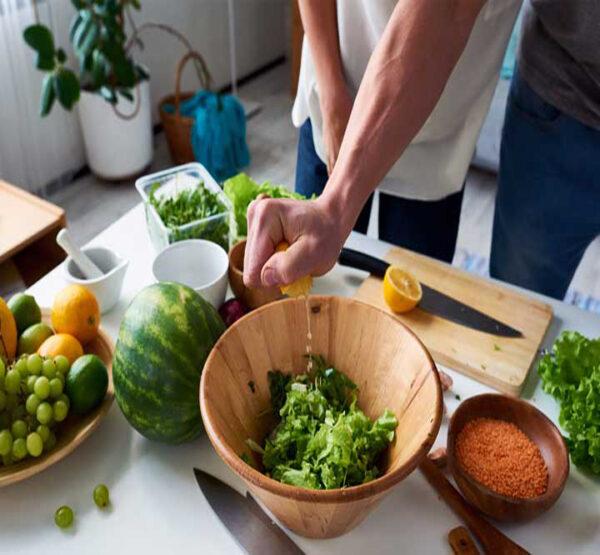 رژیم سبزیجات برای لاغری سریع