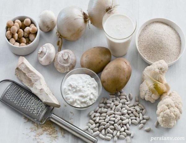 مواد غذایی سفید رنگ چه خواصی برای بدن ما دارند ؟ / بررسی ۹ ماده سفید رنگ