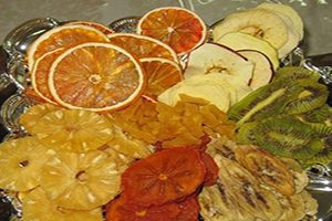 میوههای خشک | خواص میوه های خشک و نحوه خشک کردن میوه ها