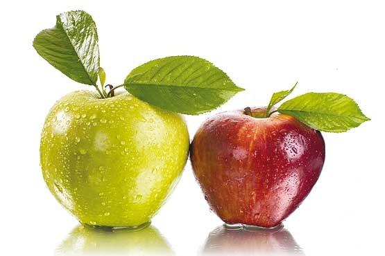 سیب قرمز بهتر است یا سیب زرد؟