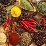 دارچین ، زعفران ، زردچوبه ، فلفل ، سیر ، گنج های آشپزخانه