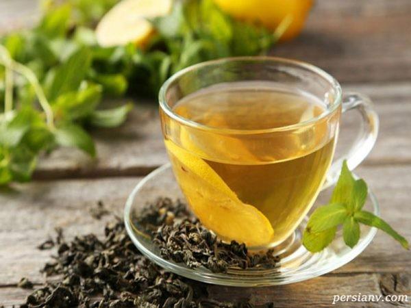 خواص چای سبز با عسل
