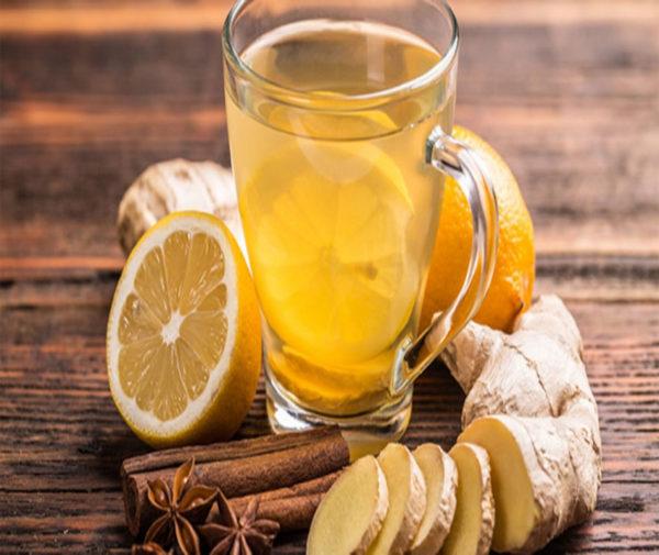 چای زنجبیل و لیموترش