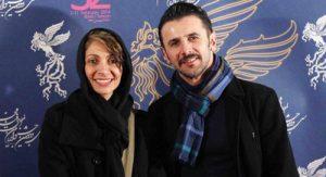 گفتگو امین حیایی و نیلوفر خوش خلق زوجی هنری درباره زندگیشان