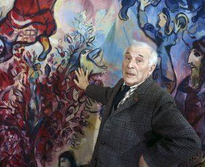 نگاهی به زندگی مارک شاگال نقاش برجسته فرانسوی