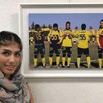 گفتگو با الهام فرهمند دیوید بکام فوتبال بانوان ایران درباره زندگیش