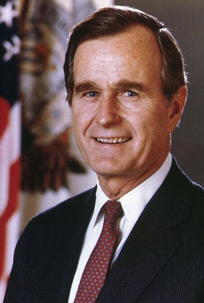 جورج بوش پدر