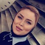زندگی آناهیتا نیکوکار ؛ جوان ترین زن خلبان ایرانی !