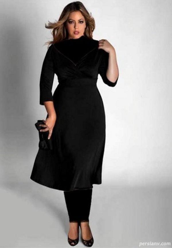 مدل لباس پایین تنه چاق