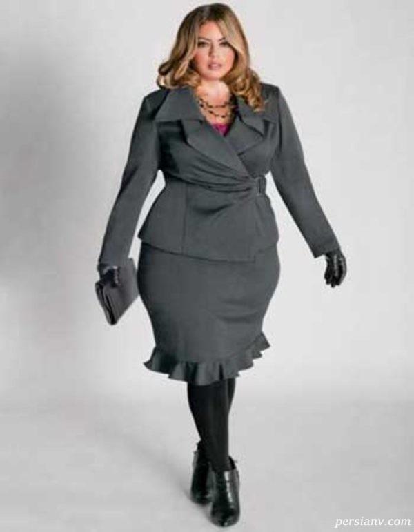 دامن برای افراد چاق