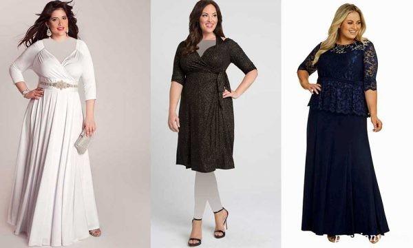 لباس مناسب خانم های چاق