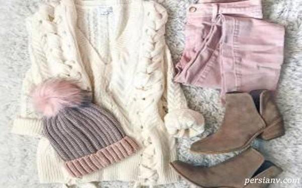 پوشیدن لباس در زمستان (خانمها)