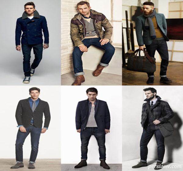 لباس زمستانی مردانه شیک