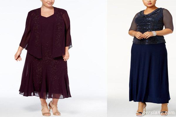 اصول لباس پوشیدن افراد چاق | نکات و اصول لباس پوشیدن افراد چاق