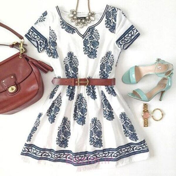 لباس زیبای تابستانی