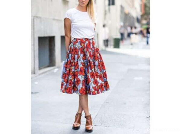 لباس تابستانه رنگی