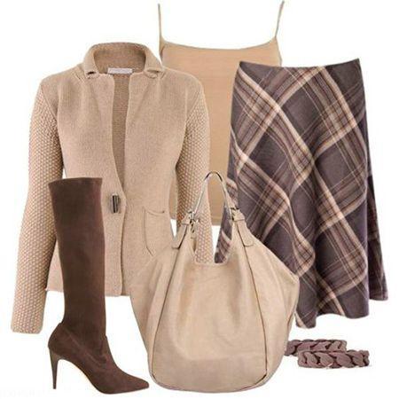 انتخاب لباس پاییزی