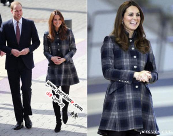 لباس بارداری عروس سلطنتی
