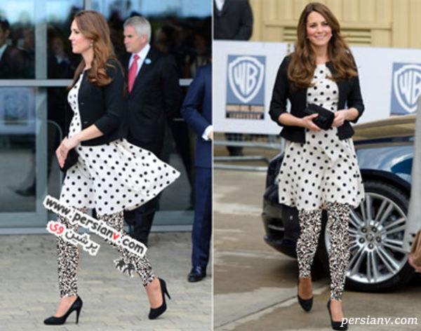 لباس بارداری کیت میدلتون