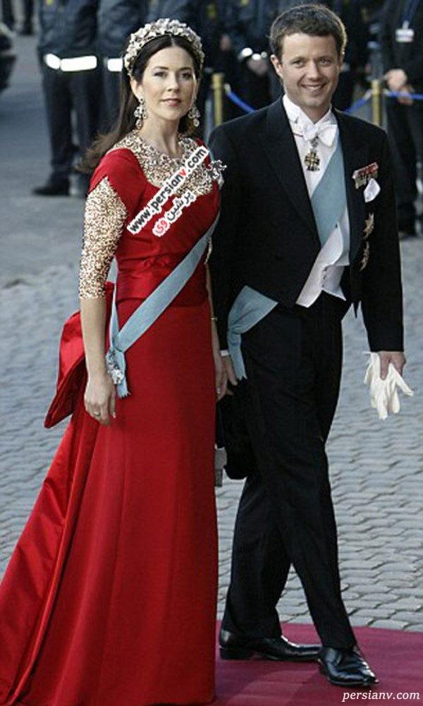 مدل لباس ملکه دانمارک