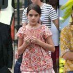 دختر کوچکی که کیت میدلتون در لباس از او تقلید می کند! +عکس