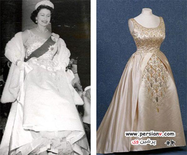 لباس ملکه دایانا