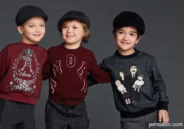 مدل لباس های شیک بچه گانه مارک دی اند جی + بخش دوم (پسرانه)