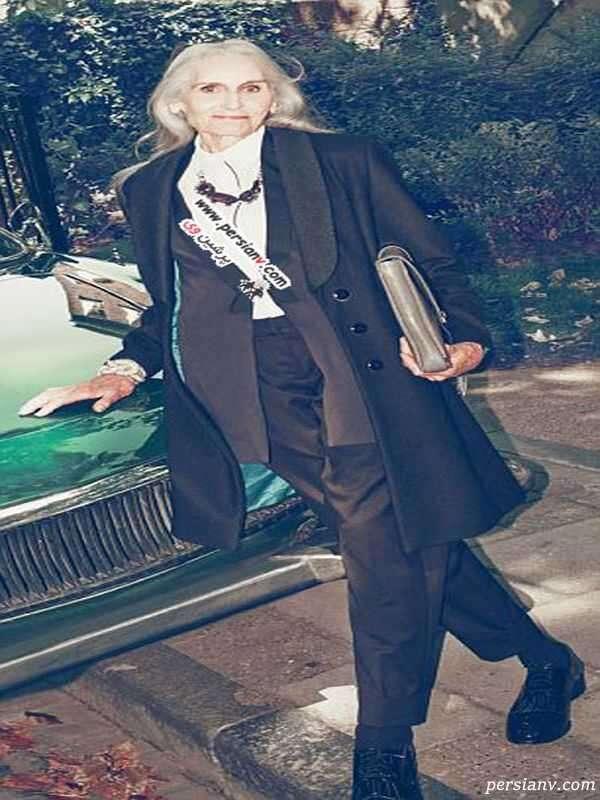 پیرترین سوپرمدل دنیا