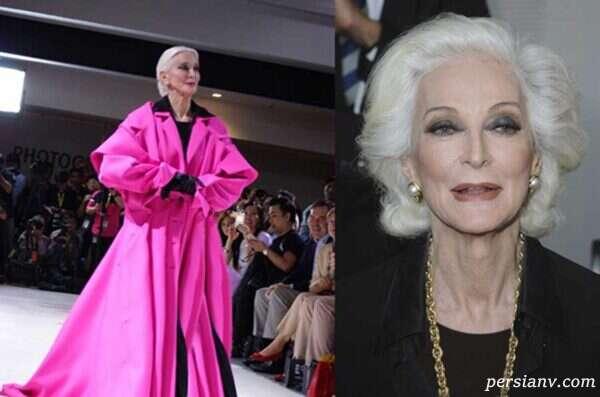 پیرترین سوپرمدل دنیای مد و لباس
