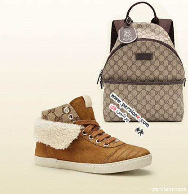 مدل کیف و کفش گوچی