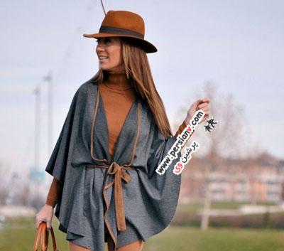شنل پاییزی زنانه