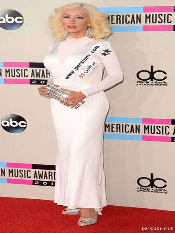 مدل لباس های جوایز AMA