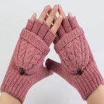 مدل های بسیار شیک دستکش های بافتنی دخترانه +عکس