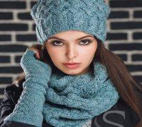 مدل شال گردن های بافتنی دخترانه بسیار زیبا +عکس