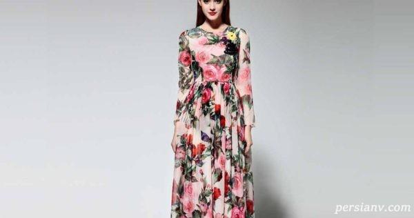 ست های بسیار شیک و بی نظیر لباس های گلدار