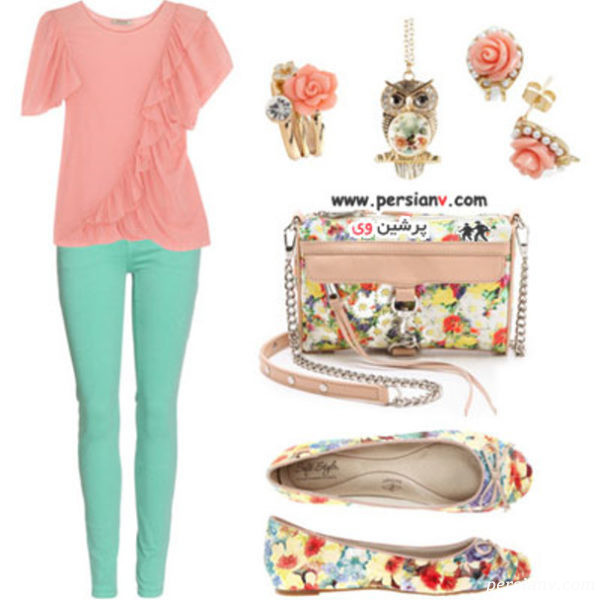 لباس های گلدار