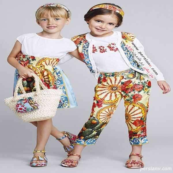 لباس دختران دولچه گابانا