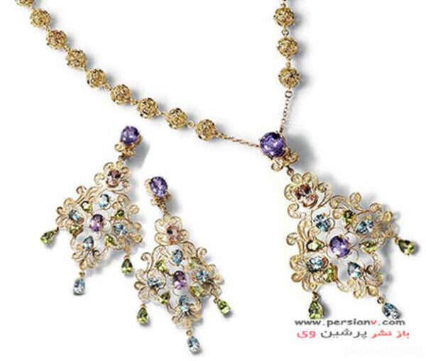 گلچینی از جواهرات زیبای دولچه و گابانا